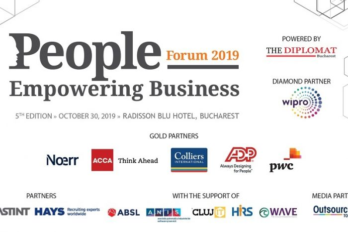 Strategic Talent Acquisition at People Empowering Business Forum on October 30 in Bucharest