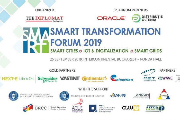 Smart Transformation Forum to take place on September,26 at Bucharest