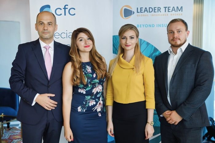 Leader Team Broker Partners with CFC to Protect Romanian Technology Companies from Cyber Exposures, including GDPR