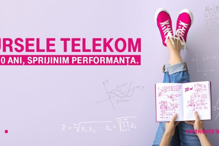 "Telekom Romania announces the 10th edition of the ""Telekom Scholarships"" program, which supports the performance of young people in education"