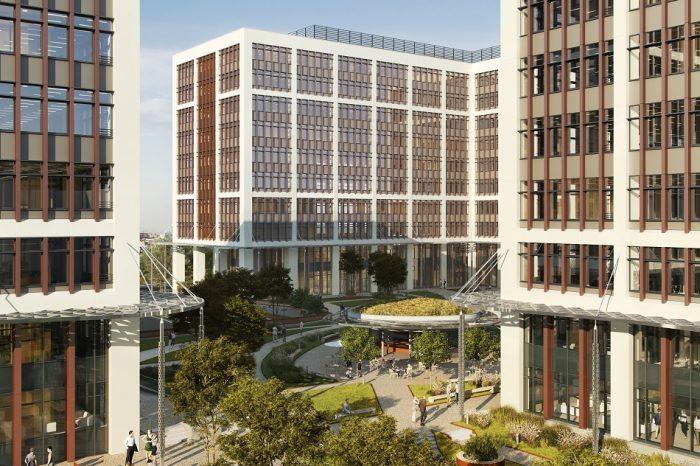 Business Garden Bucharest, in top 3 LEED certified office buildings worldwide