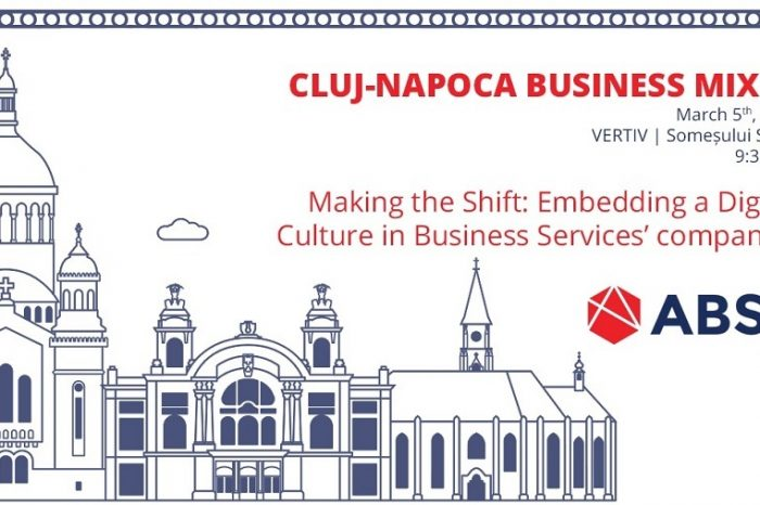 ABSL continues its Business Mixer series with Cluj-Napoca, on March 5