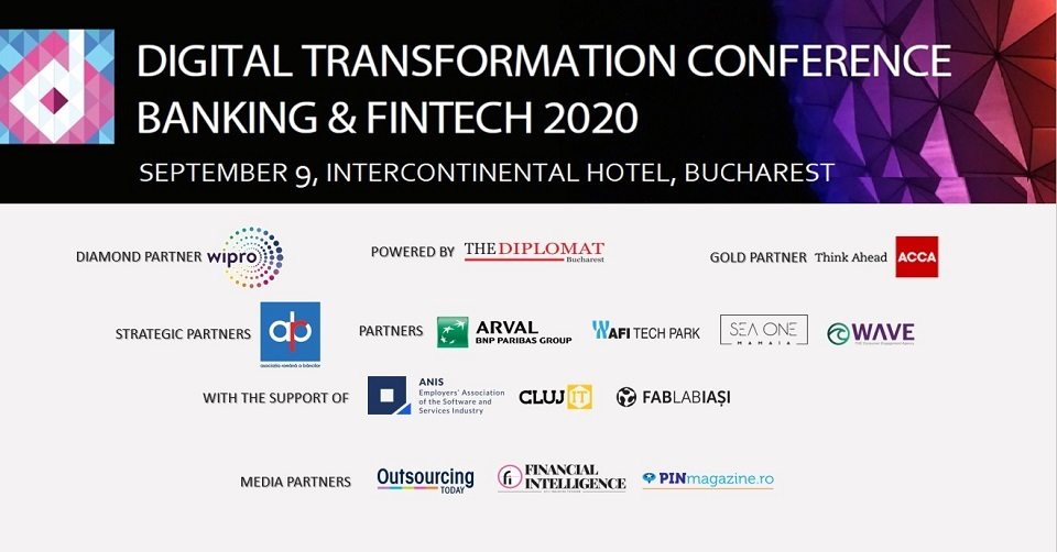Digital Transformation in Fintech & Banking to take place on September 9 at Bucharest