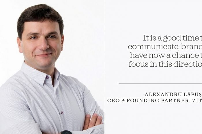 Alexandru Lapusan, Zitec: It is a good time to communicate, brands have a chance to focus in this direction