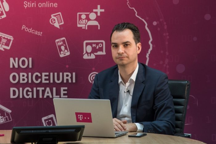 Telekom Romania ran a survey to highlight the changes in the Romanians' digital habits in the last month, amid the general situation