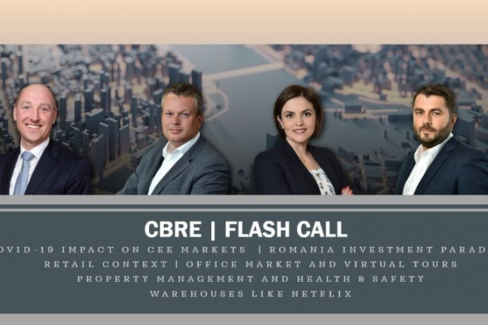 CBRE Romania Flash Call: Health and safety measures and technology are on everyone's agenda