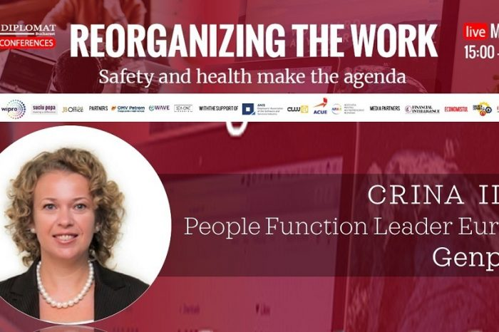 CRINA ILIE, Genpact @Reorganizing the work conference: We should join forces to manage this new blurry delimitation between work and life