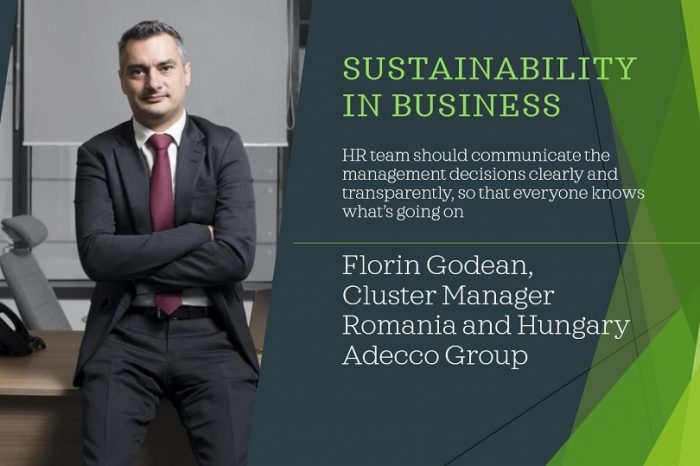 Sustainability in business, Florin Godean, Adecco Group: Swapping short-term objectives with sustainable long-term business strategies and business vision