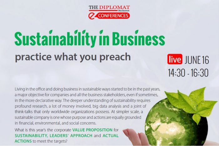 Sustainability in business e-conference to take place on June 16