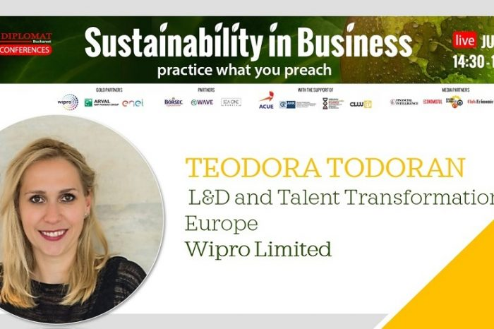 Teodora Todoran, Wipro: Education is the goal of sustainable development