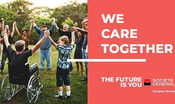 """Societe Generale European Business Services announce the winners for its first financing program – """"We Care Together"""""""