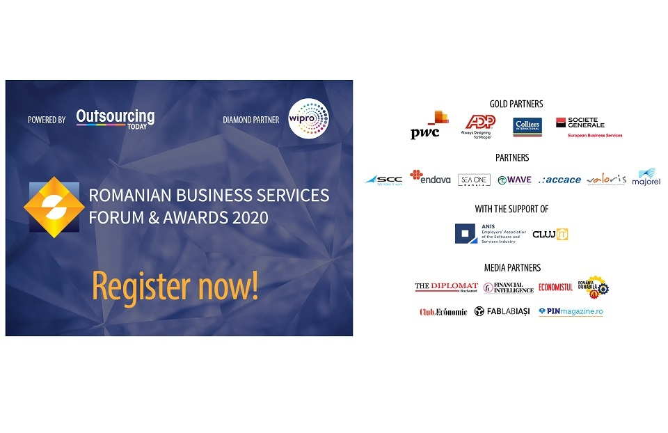 Romanian Business Shared Services Forum & Awards Gala 2020 to take place on July 15
