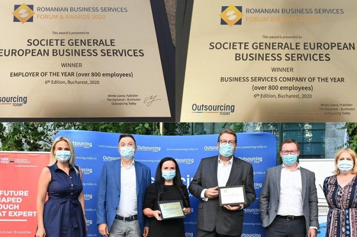 Societe Generale European Business Services present at Business Shared Service Forum & Awards Gala