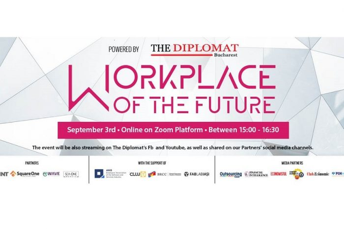 WORKPLACE OF THE FUTURE IS HERE AND NOW – Online conference dedicated to the new workplace culture on September, 3rd