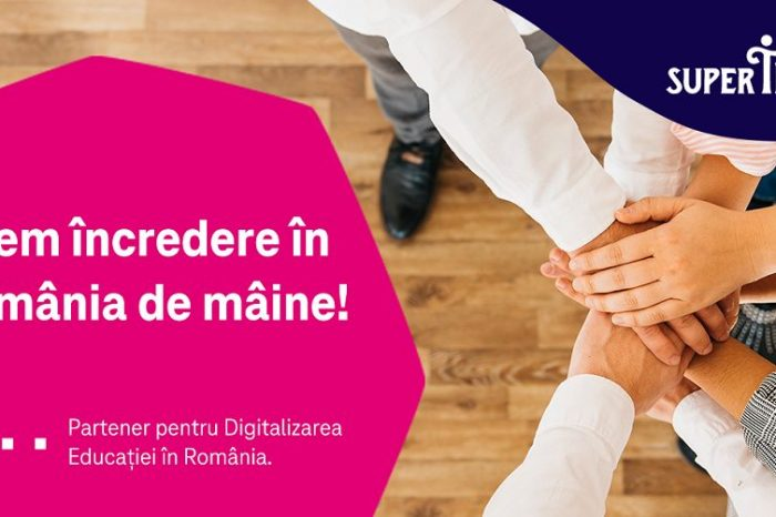 Telekom Romania launches a new initiative for education, in partnership with SuperTeach