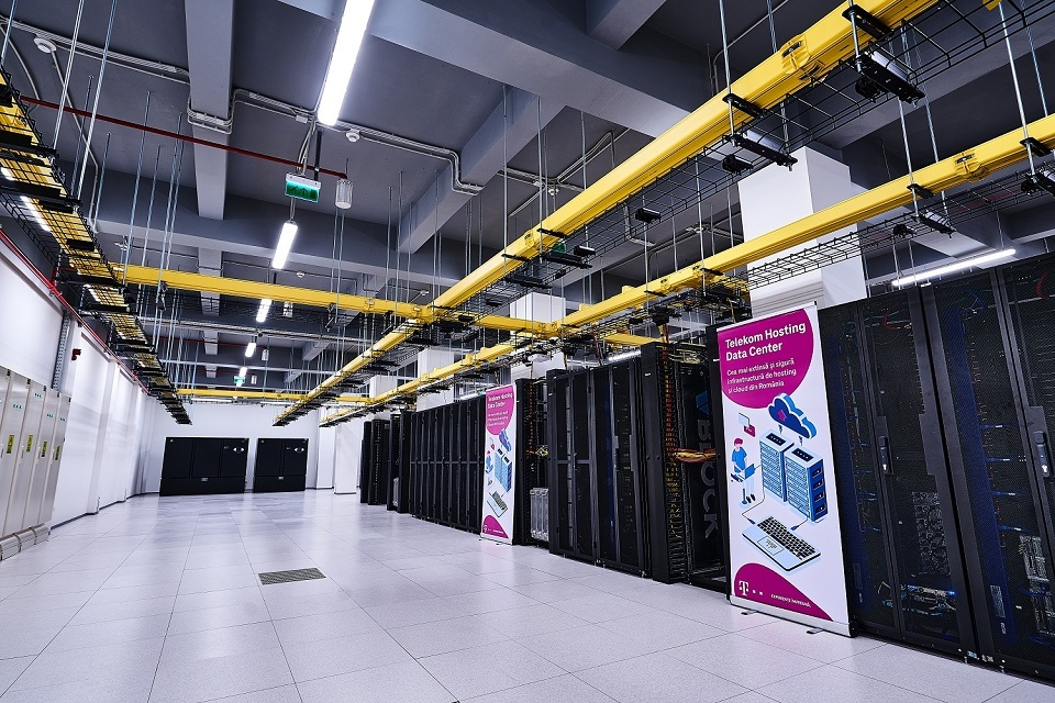 Telekom Romania announces the launch of two new hosting data centers following an investment of 3.5 million Euro