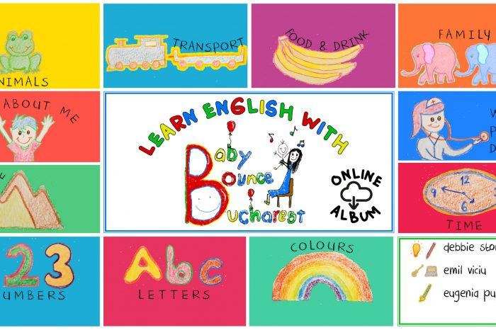 Baby Bounce Bucharest launches first audio English course aimed at the littlest Romanians!