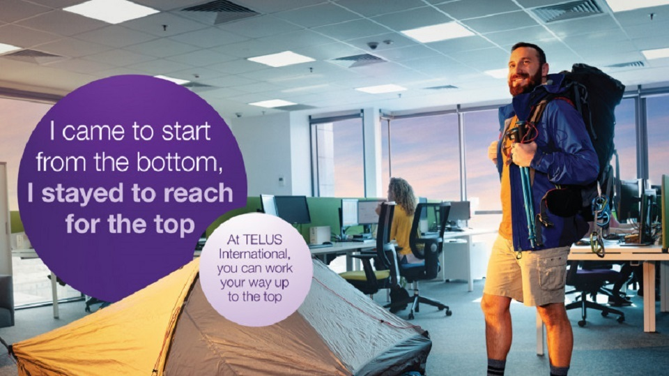 Mullen signs an employer branding campaign for TELUS International Romania, inviting candidates to find out why #ItsDifferentHere