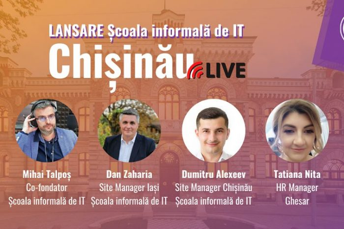 Scoala Informala de IT spreads wings in the Republic of Moldova