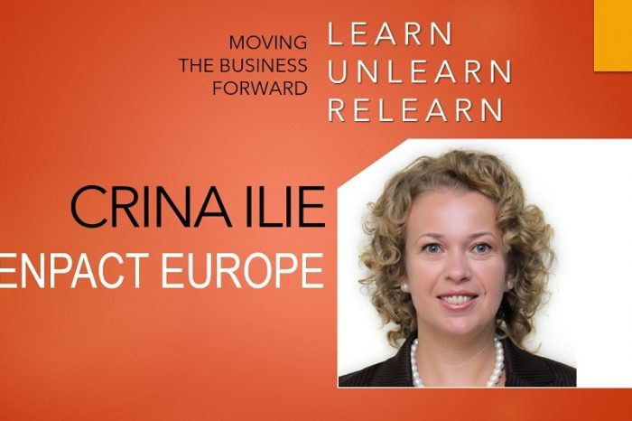 Crina Ilie, Genpact Europe: Today, the meteoric speed of change of any skill relevance stands as the main challenge
