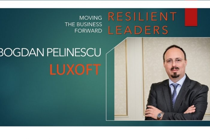 Bogdan Pelinescu, Managing Director Central and Western Europe Luxoft : Now, it is critical to react quickly when it comes to decision making