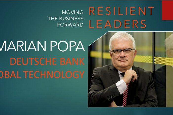 Marian Popa, CEO of Deutsche Bank Global Technology Bucharest: We should never waste a good crisis