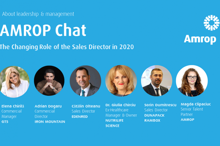Amrop: The changing role of the sales directors in 2020