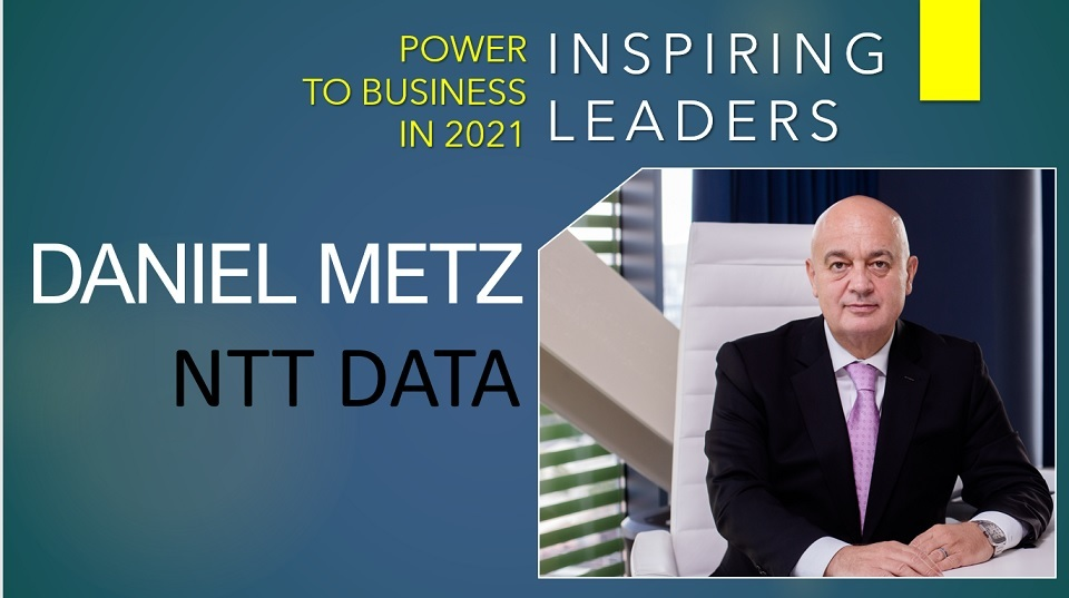 Daniel Metz, CEO of NTT DATA Romania: We are planning a new organizational culture, an inside-out approach, where collaboration is key