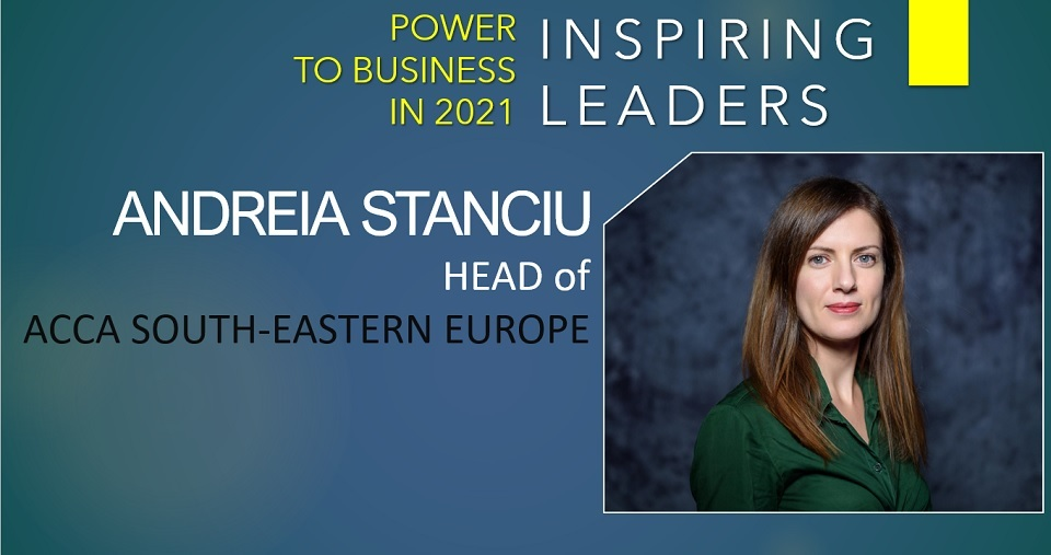 Andreia Stanciu, ACCA: Now is an unmissable opportunity for business and society to reset priorities