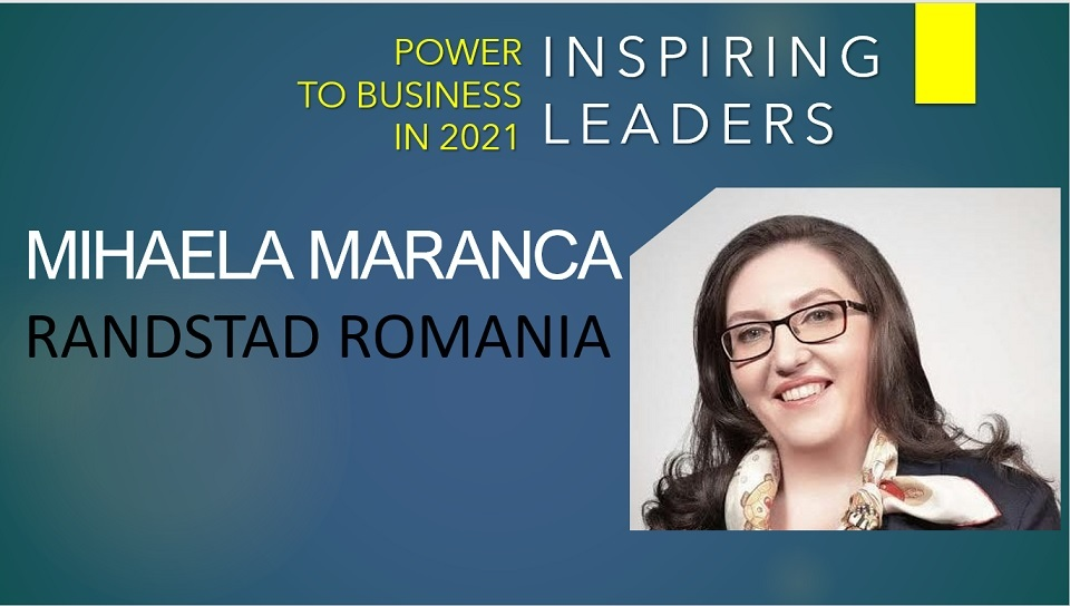 Mihaela Maranca, Country Manager, Randstad Romania: Redeploying talent has become a priority for many companies