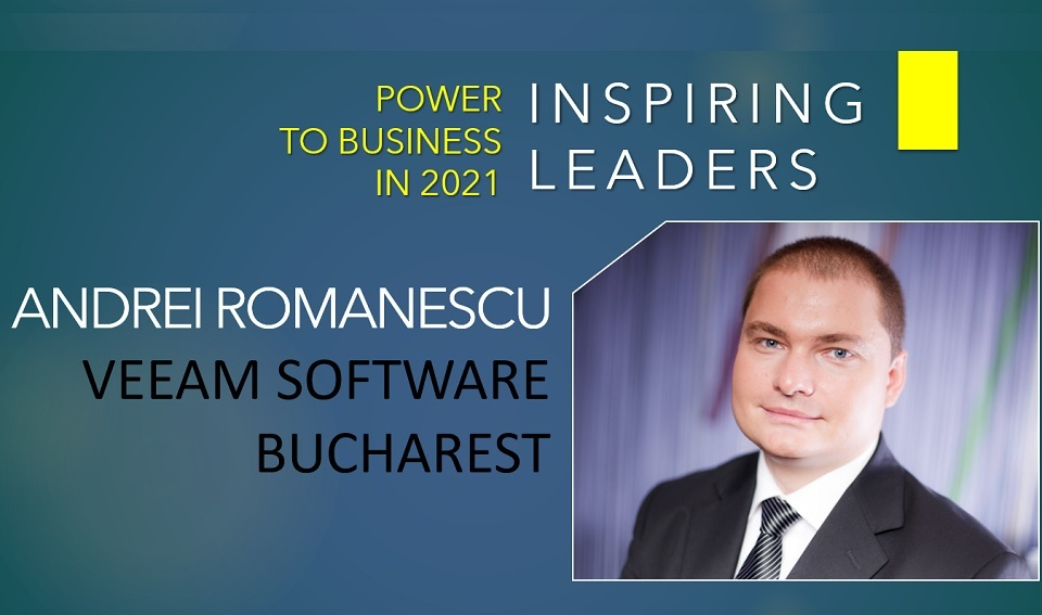 Andrei Romanescu, Veeam Software Bucharest: Business leaders around the globe have to manage uncertainty with decisiveness under pressure