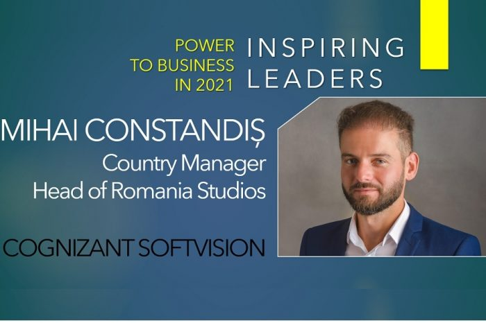 Mihai Constandiș, Cognizant Softvision:  Key principles of work culture are flexibility, mobility, trust and optionality