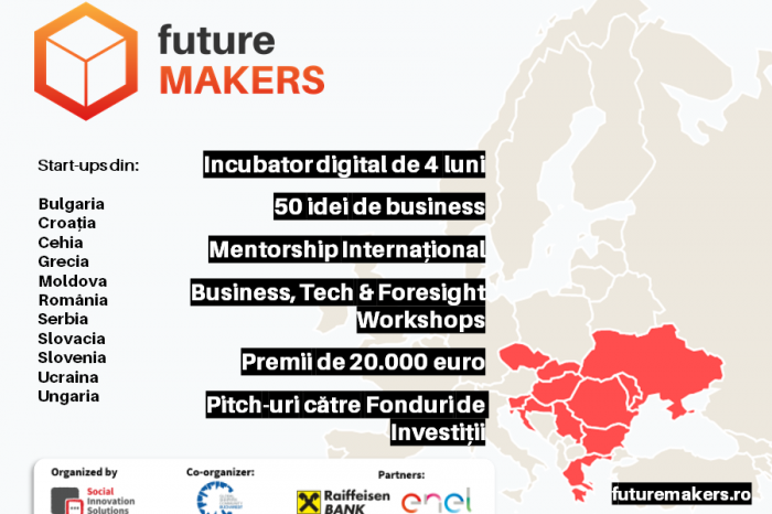 Future Makers: 50 start-ups, 11 countries and 20,000 euro in prizes
