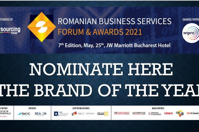 Just four days to NOMINATE the BRAND of the YEAR at Romanian Business Services Forum & Awards 2021