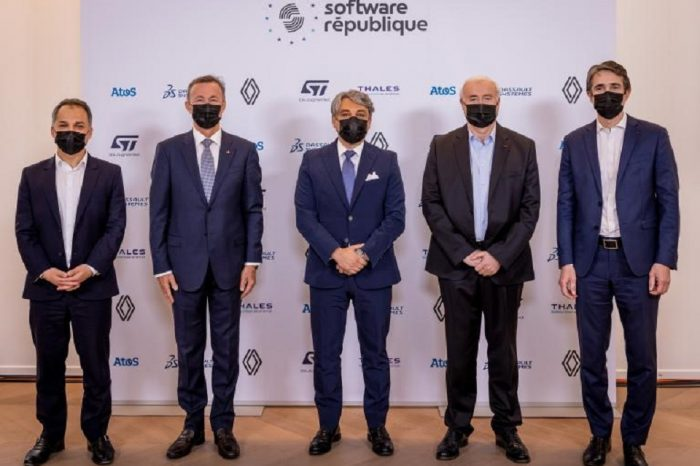 """Atos, Dassault Systèmes, Groupe Renault, STMicroelectronics and Thales join forces to create the """"Software République"""": a new open ecosystem for intelligent and sustainable mobility"""