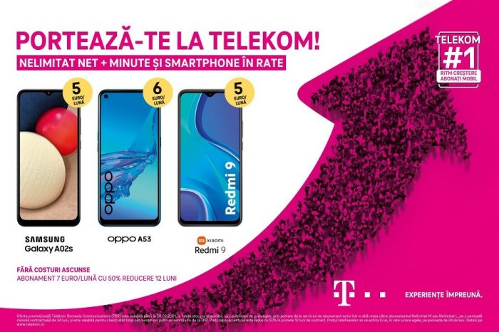 Telekom Romania continues its promise to offer customers offers without hidden costs, at prices that please them