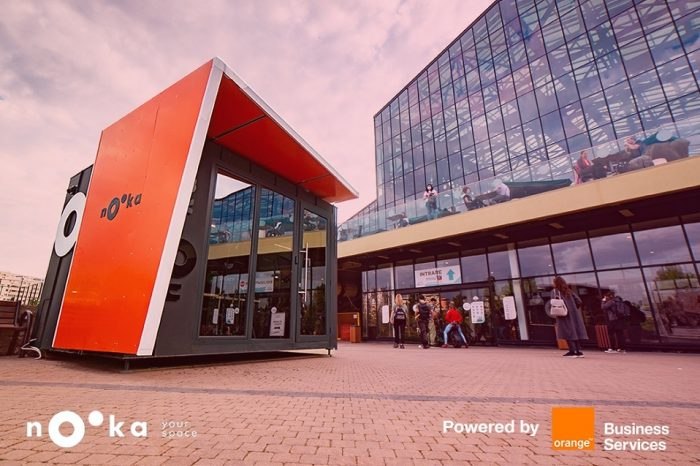 Orange Business Services is the smart and IoT technology partner for Nooka Space in Romania