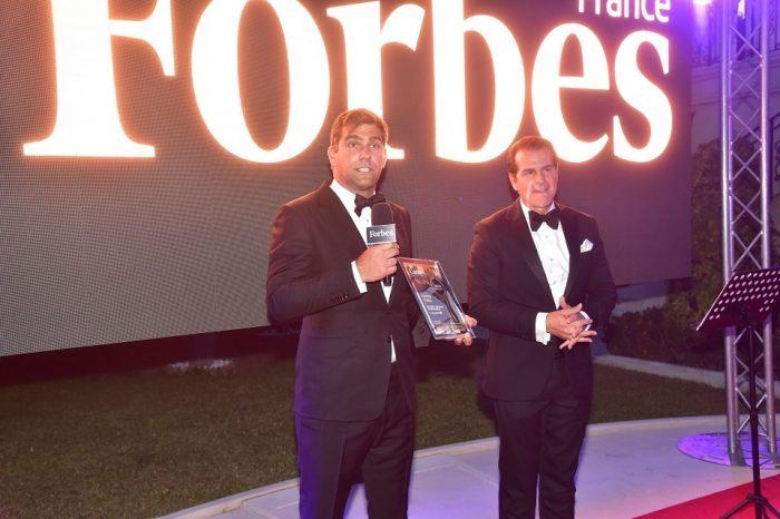 "Ovidiu TOMA, CEO CryptoDATA Tech - ""The Most Visionary Entrepreneur"" Award at the iSuccess Awards Gala in Cannes"