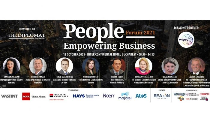 People Empowering Business Forum to take place on  October 12 at Bucharest