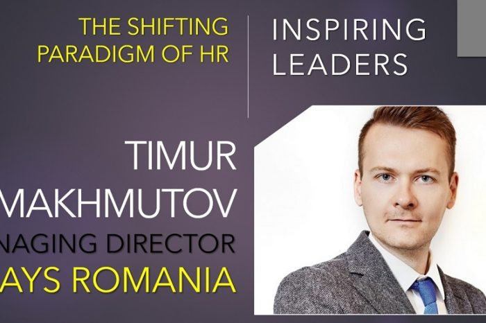 Timur Makhmutov, Managing Director, Hays Romania: Values and attitude should be the most critical assets we're looking for in the candidates