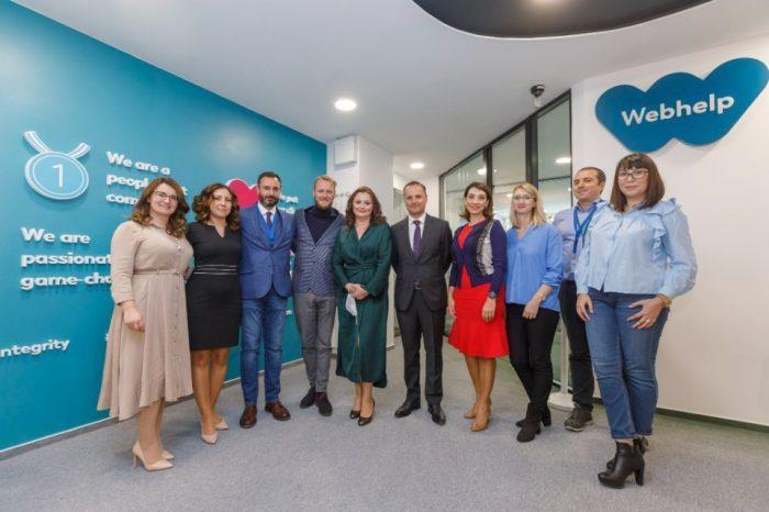 Webhelp Romania opens new office in Galati